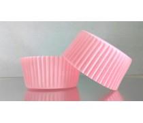 Бумажная форма для кексов Розовая 50х30 мм