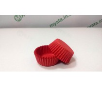 Бумажные формочки для конфет Красные