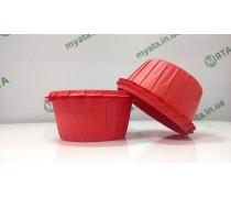Бумажные формы с бортиком Красные