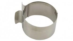 Раздвижное кольцо для гарнира и бисквита, 8,5 см