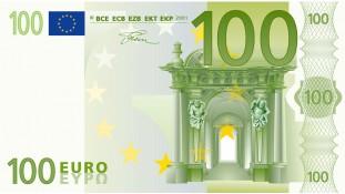 Картинка 100 евро