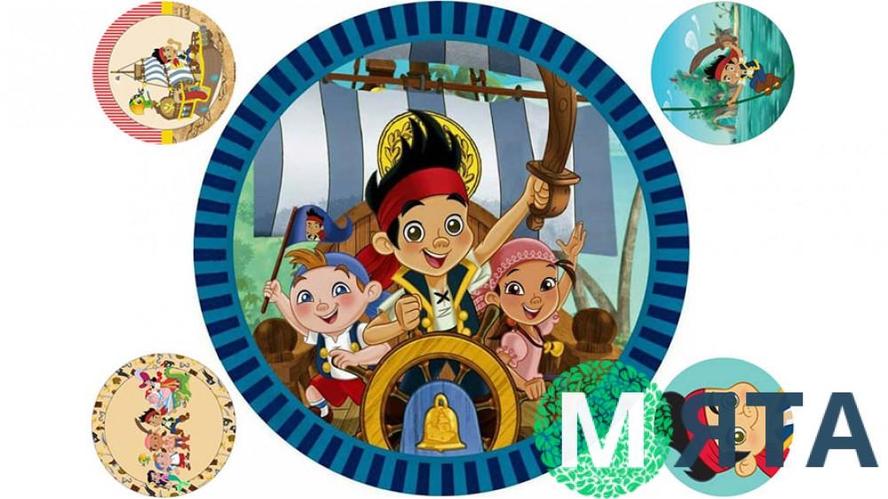Джейк и пираты 4