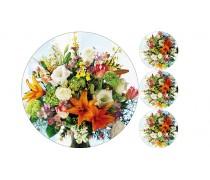 """Съедобная картинка """"Цветы"""" 4"""