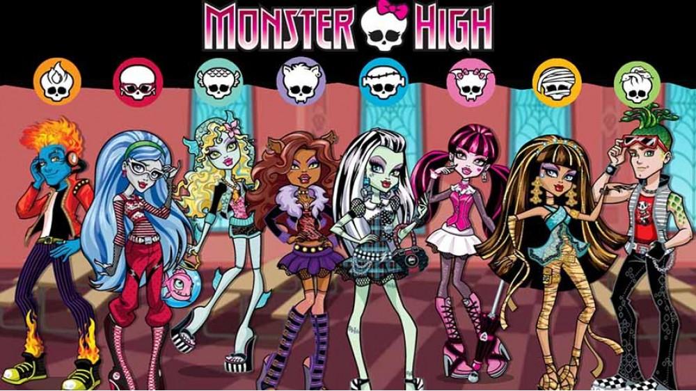 Школа Монстров постер