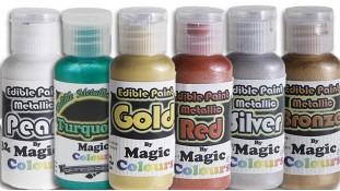 Металлизированные красители для окрашивания поверхностей Magic Colours