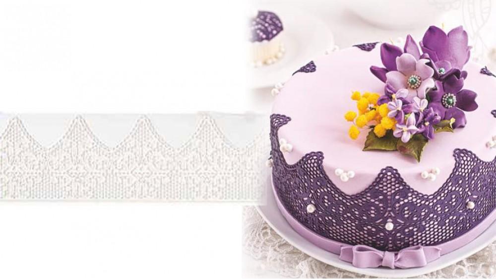 Кружево для торта №321