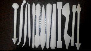 Набор инструментов для мастики. 13 стеков
