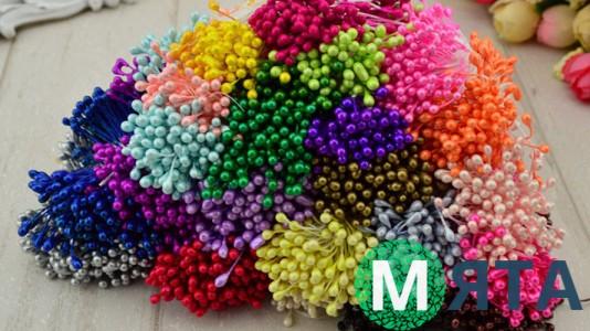 Тычинки для цветов, 25 шт