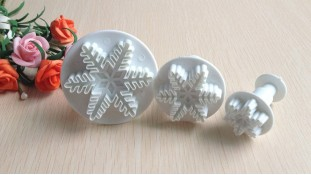 Плунжеры для мастики Снежинки