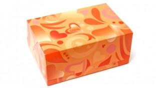 Коробка 18х12х8 см (2 капкейка)