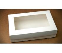 Коробка для эклеров, зефира, печенья