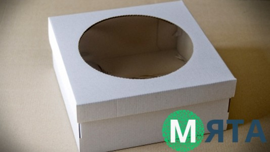 Коробка для торта 25х25х11 см