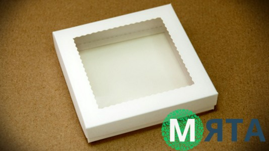 Коробка для пряников, 15х15 см