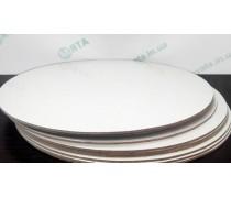 Подложки усиленные 2,5 мм. Круглые белые