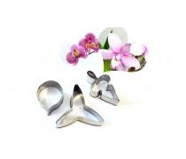 Вырубка металлическая Орхидея Фаленопсис
