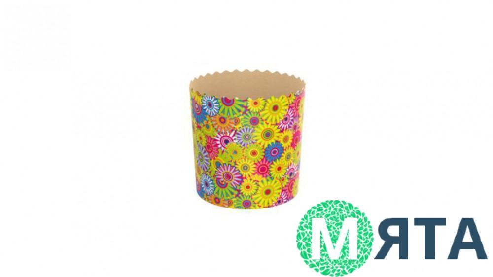 Бумажные формы для куличей №9-7. 110х85 мм (375 грамм)