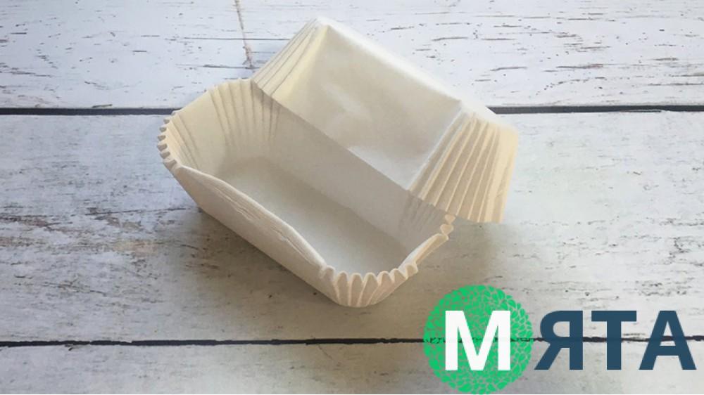Бумажная форма для эклеров 80х35 мм