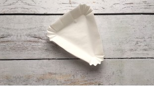 Бумажная форма для кусочка торта