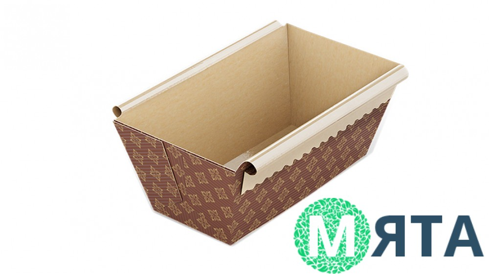 Бумажная форма для выпечки кекса