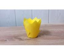 Бумажная форма Тюльпан Желтый