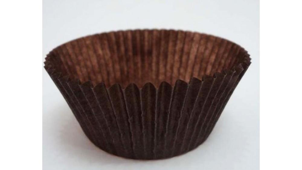 Бумажная форма для кексов Коричневые 50х30 мм