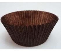 Бумажная форма для кексов Коричневая 50х30 мм