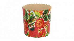 Бумажные формы для куличей №7-7 110х85 (375 грамм)