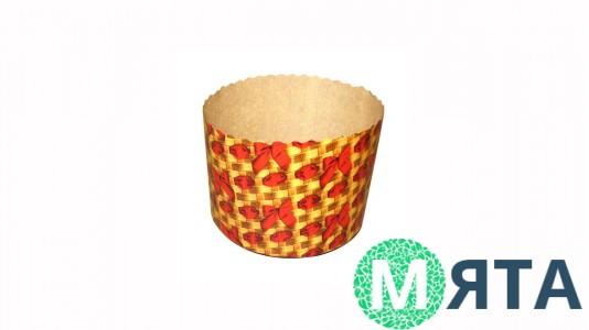 Бумажные формы для куличей Плетенка 70х60 мм