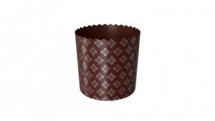 Бумажные формы для куличей Серебро 70х85 (110 грамм)