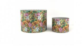 Бумажные формы для куличей Жостово, 90х90 мм