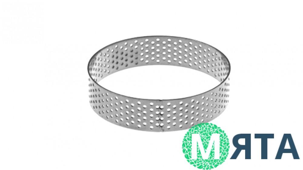 Кондитерские кольца, перфорированные 2 см