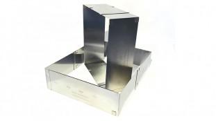 Раздвижная форма для бисквита Прямоугольник, 8,5 см