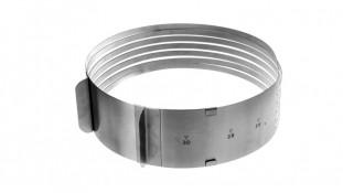 Раздвижное кольцо для нарезки коржей