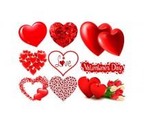 Съедобная картинка День Влюбленных 9