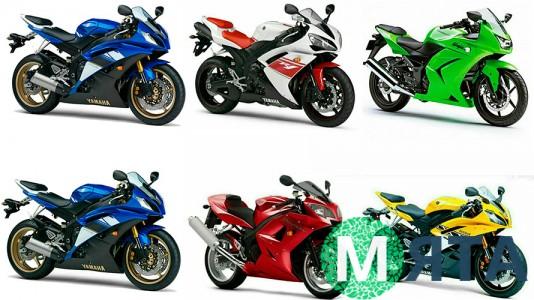 Съедобная картинка Мотоциклы