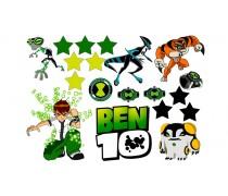 Съедобная картинка «Бен 10» 3