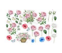 """Съедобная картинка """"Цветы"""" 14"""