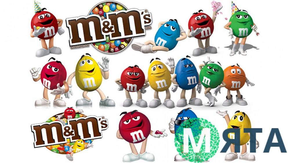 Съедобная картинка M&M's