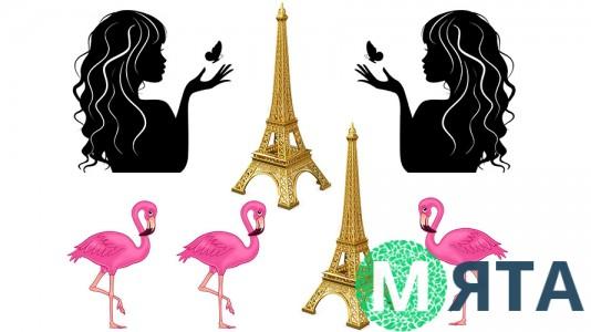 Съедобная картинка с Фламинго