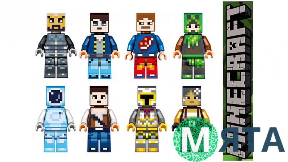 Съедобная картинка Лего Майнкрафт 7