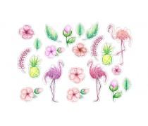 Съедобная картинка с Фламинго 2