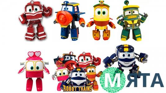 Роботы-поезда 3