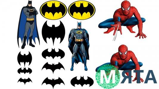Бэтмен + Спайдермен