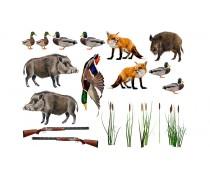 Съедобная картинка Охота 2