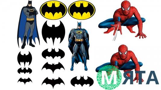 Бэтмен + Человек Паук