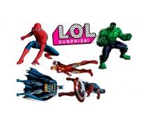 Супергерои +LoL