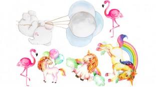 Единороги + Фламинго, Слоник
