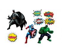 Супергерои +поп арт
