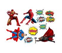 Супергерои +поп арт 4