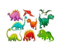 Динозавры 8